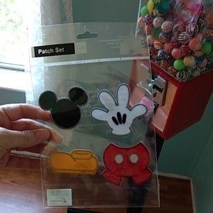 **4/$20** Disney Mickey Mouse Patch Set
